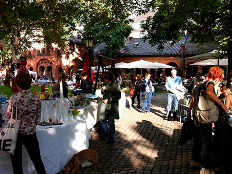 Kunsthåndverkmarkedet, 18. – 20. juli
