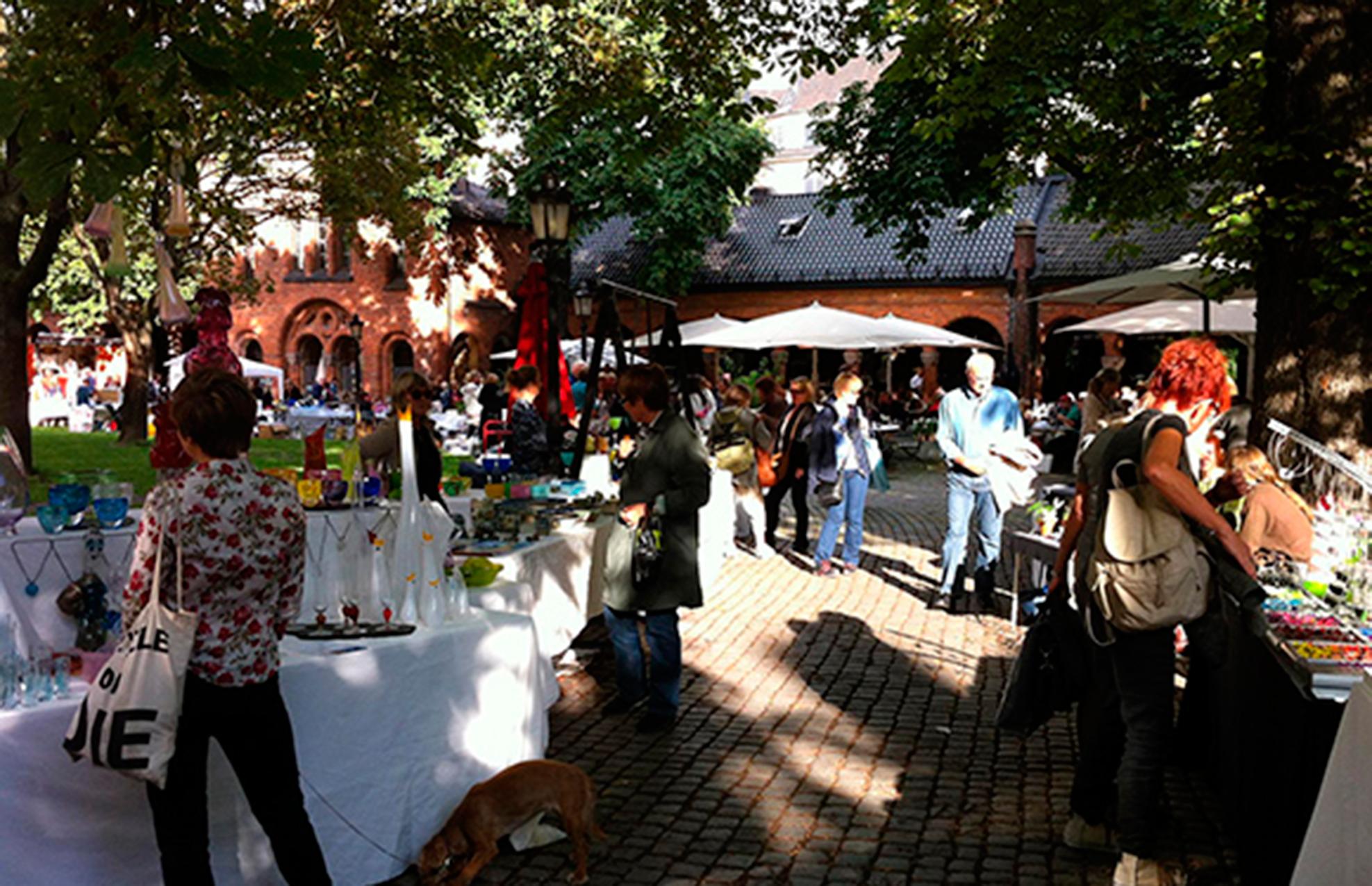 Kunsthåndtverkmarkedet, 18. – 20. juli 2017
