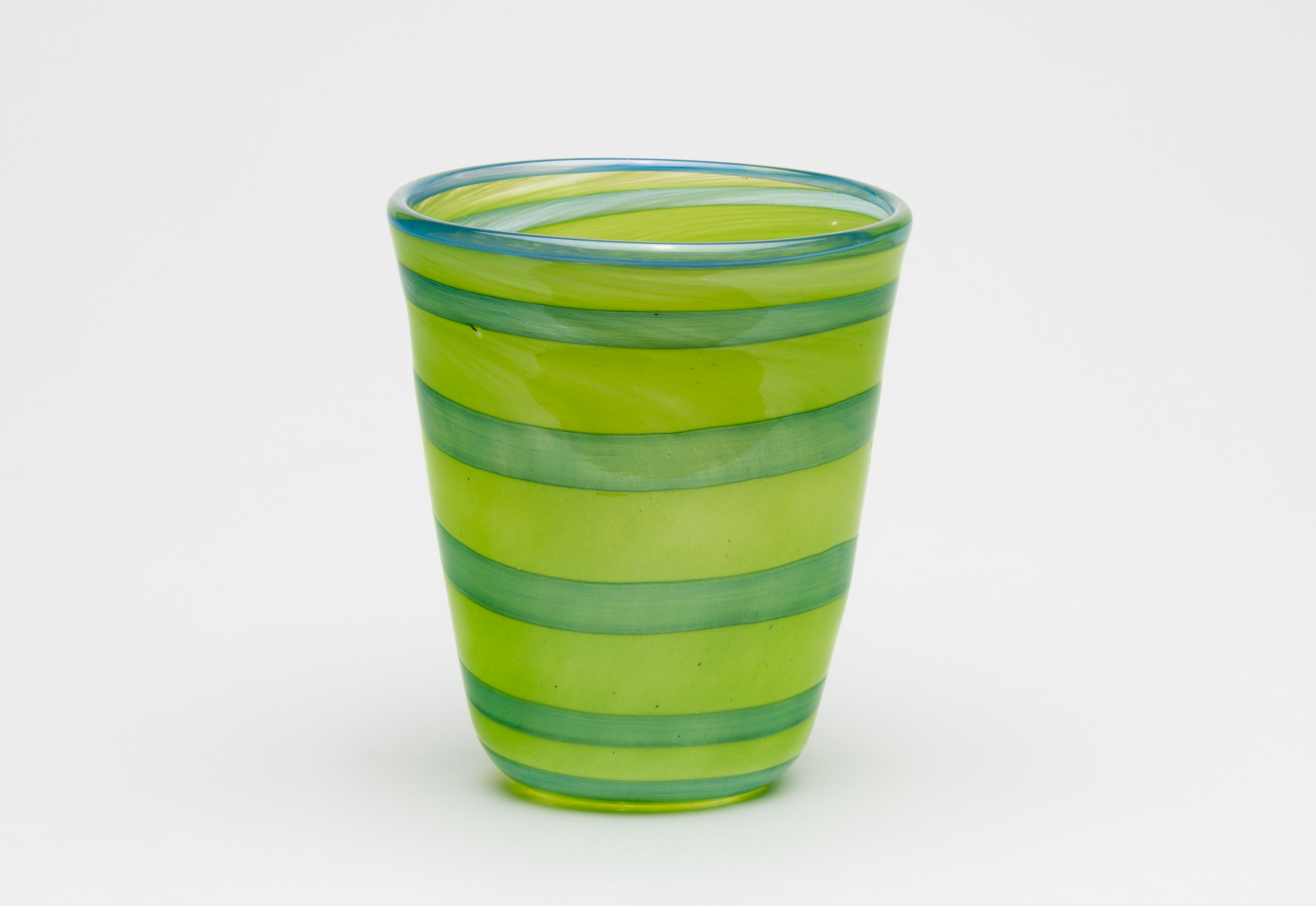 Limegrønn/blå
