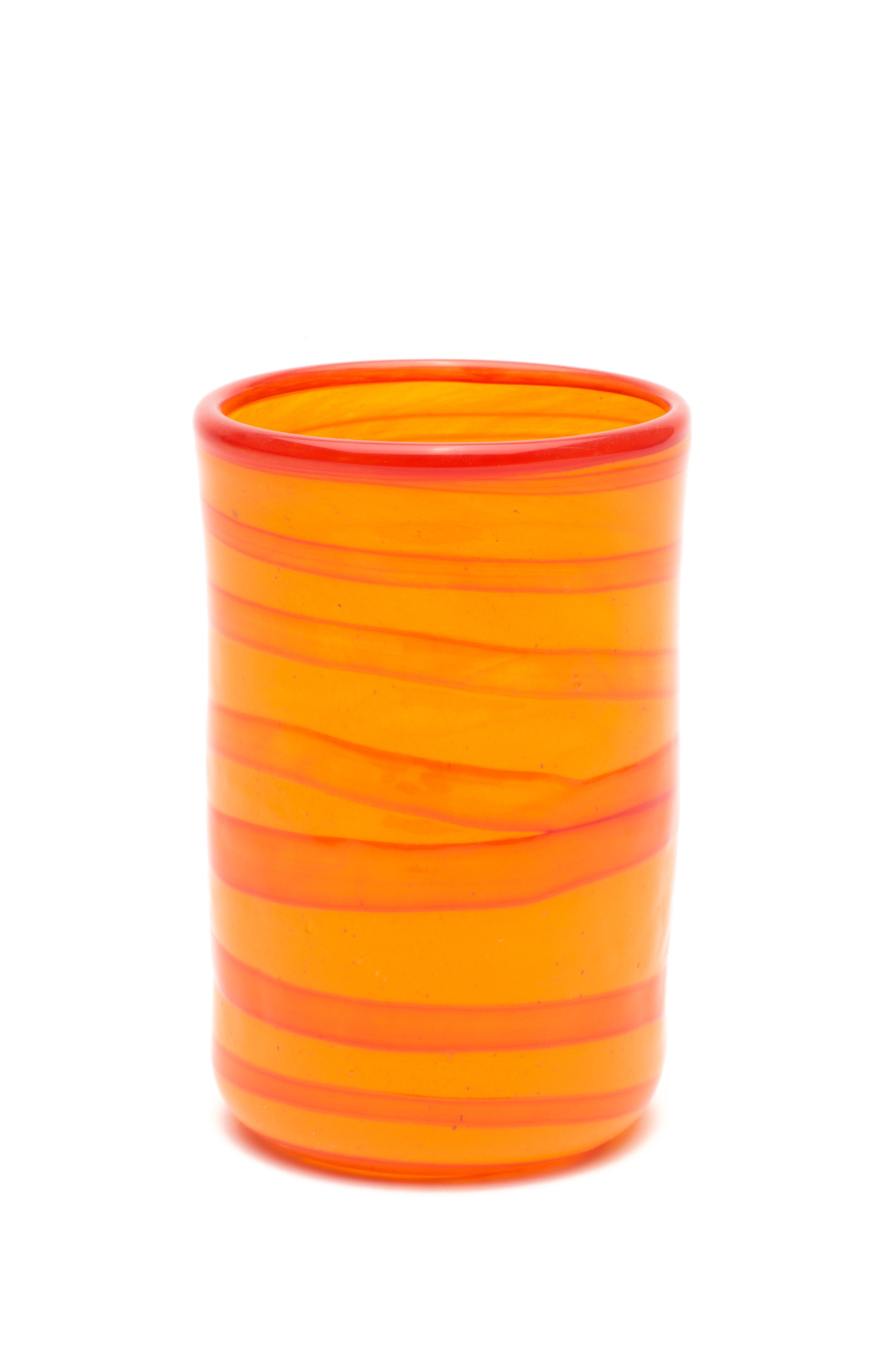 mandarin med rød