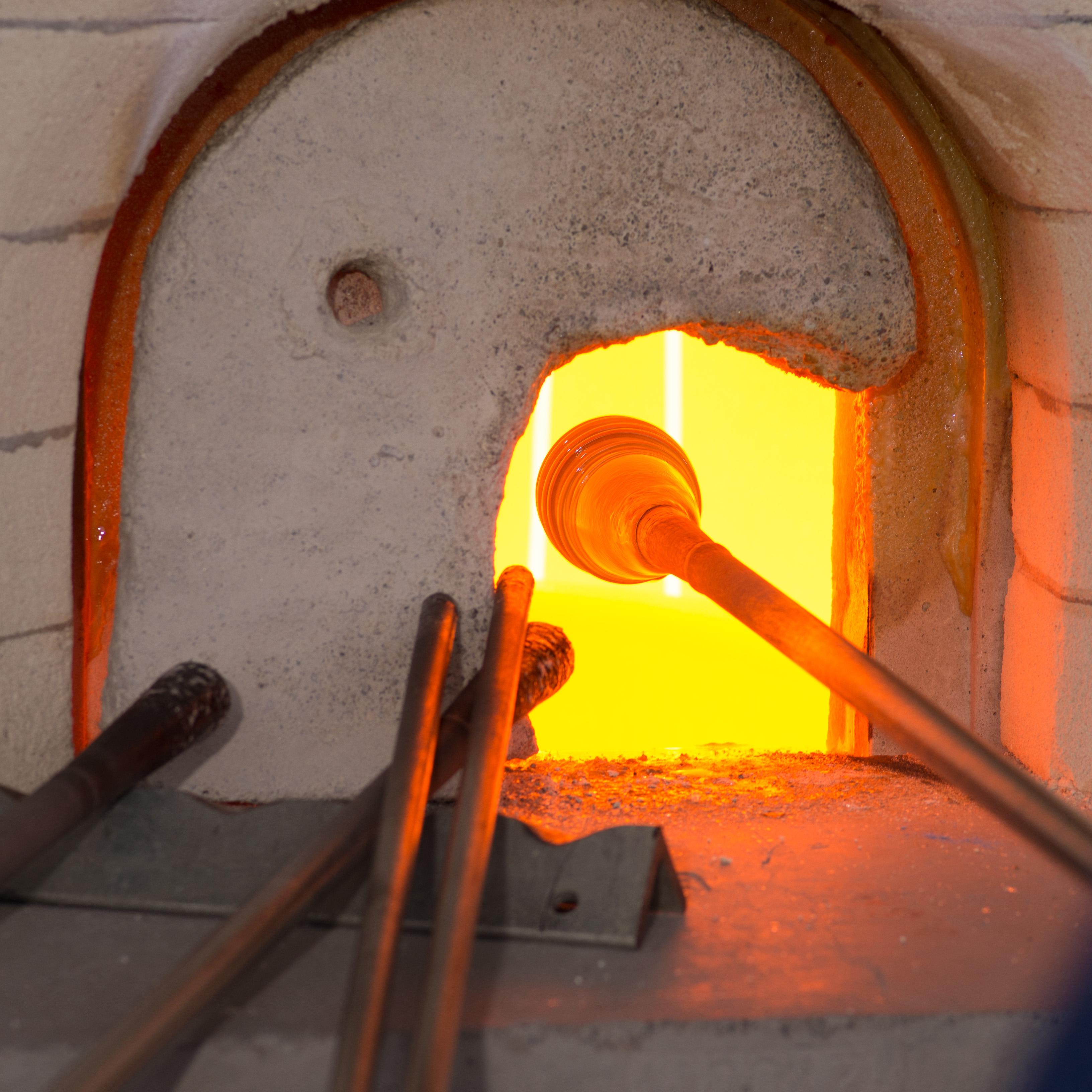 Åpent glassverksted, se åpningstidene her